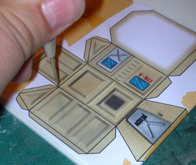 Constructing Styrene Buildings from Papercraft Templates   Eviscerate