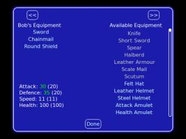 Equipment Select
