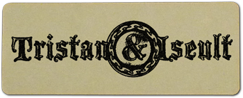 Tristan and Iseult Logo Label